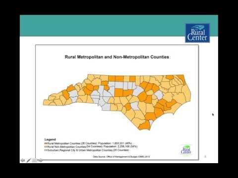 Rural North Carolina Today and Tomorrow