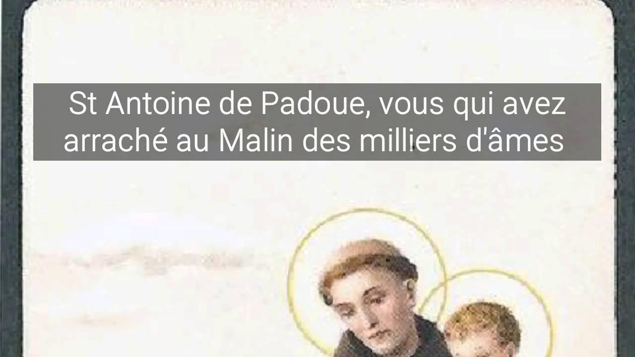 Populaire Prière à Saint Antoine de Padoue pour retrouver les objets perdus  MR74