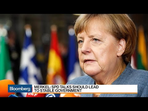 Merkel, SPD Agree to Start German Coalition Talks