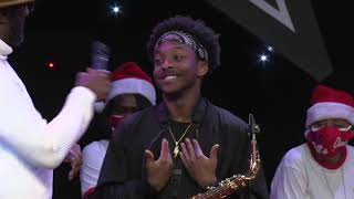 Saxophonist Gets Standing Ovation! | Comedy & Karaoke Night