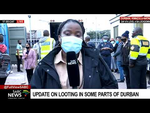 KZN Unrest   Outcome of the media briefing by Durban Metro Police