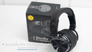 Best Sounding Headphones On Budget - OneOdio Pro 10 Review
