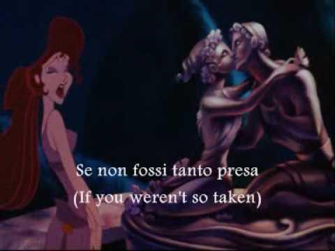 I won't say I'm in love-Italian-Subs&Trans