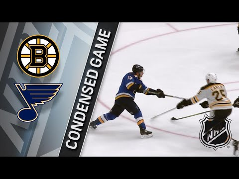 03/21/18 Condensed Game: Bruins @ Blues