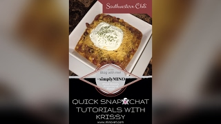 Quick & Easy How to: Southwesten Chili Soup in under 4 minutes