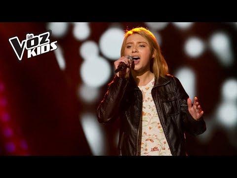 Zara Zoé canta Love   Audiciones a ciegas  La Voz Kids Colombia 2018