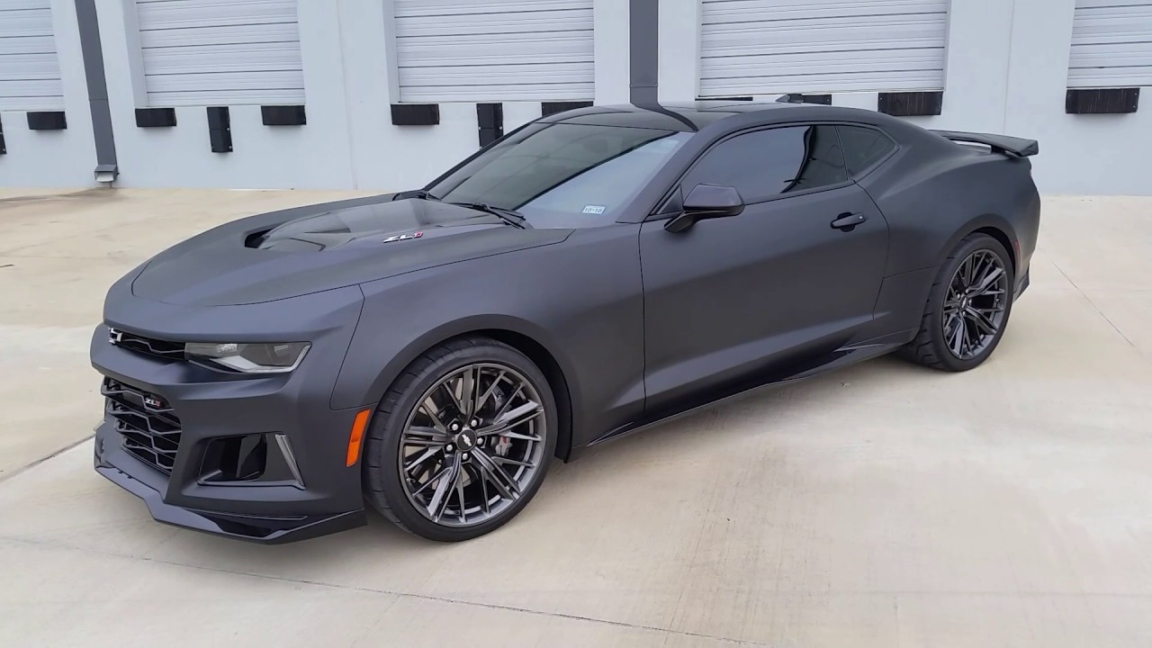 Pro Line By Dyc Camaro Zl1 Matte Clear Youtube
