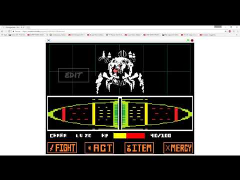 Ultimalgamate - Undertale Simple Battle Creator