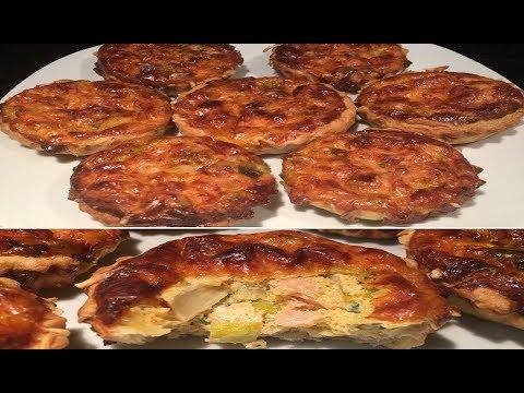 mini-tartelettes-saumon-fumé/poireaux-🐟