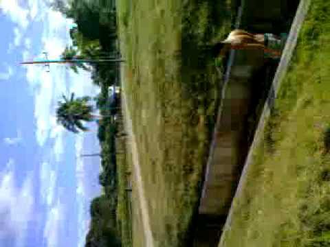 guantanamo  canal chiquito en la presa jamaica y mi primo