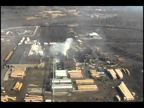 Morning After Lakeland Mill Explosion In Prince George