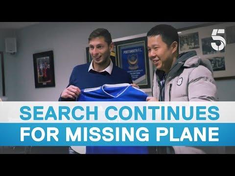 Footballer on board plane missing in Channel Islands
