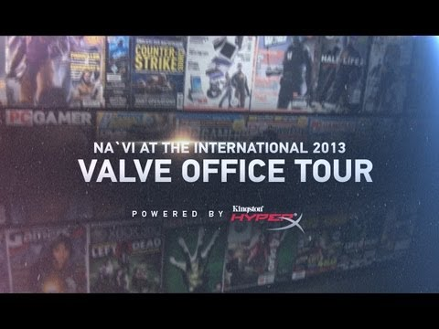 Na`Vi at the International - Valve Office Tour