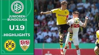 Borussia Dortmund - VfB Stuttgart 5:3 | Highlights | A-Junioren-Bundesliga | Finale