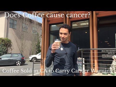 Coffee Sold in California to Carry Cancer Warning Labels