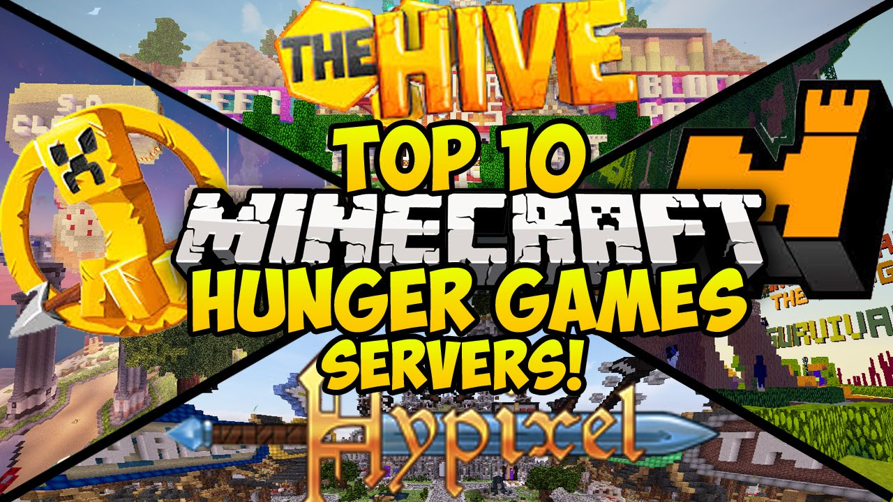 Top 10 Minecraft Hunger Games Servers For Minecraft Minecraft Hunger Games Server Youtube