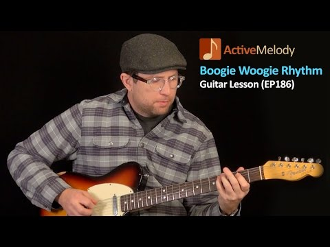 Boogie Woogie Guitar Lesson - Blues Rhythm Guitar Lesson - EP186