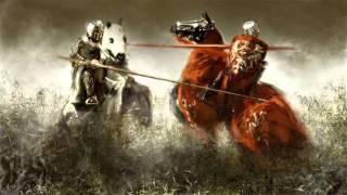 Medieval II: Total War - Kingdoms. Britain. Battle begin James Vincent