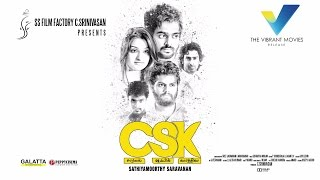 CSK Tamil Movie Official Motion Poster