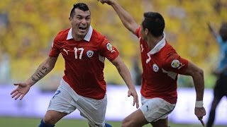 Colombia 3 - 3 Chile - Clasificatorias Brasil 2014