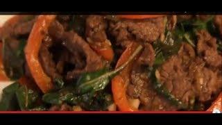 How To Make Thai Beef And Basil Stir Fry Recipe - Cach Lam Thit Bo Xao Rau Que Kieu Thai