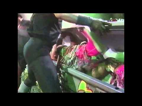 Ultimate Warrior on Undertaker's Funeral Parlor