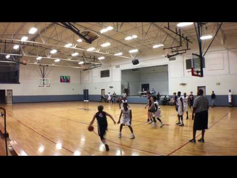 4-1-17 - Tri Cities Jaguars - 31 vs Huntsville Flight - 30 - 8th Grade Boys