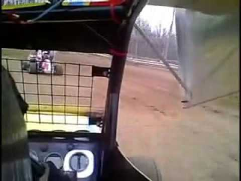 April 2009 Limerock Speedway Patrick Kelly 600cc Micro Sprint In Car Cam