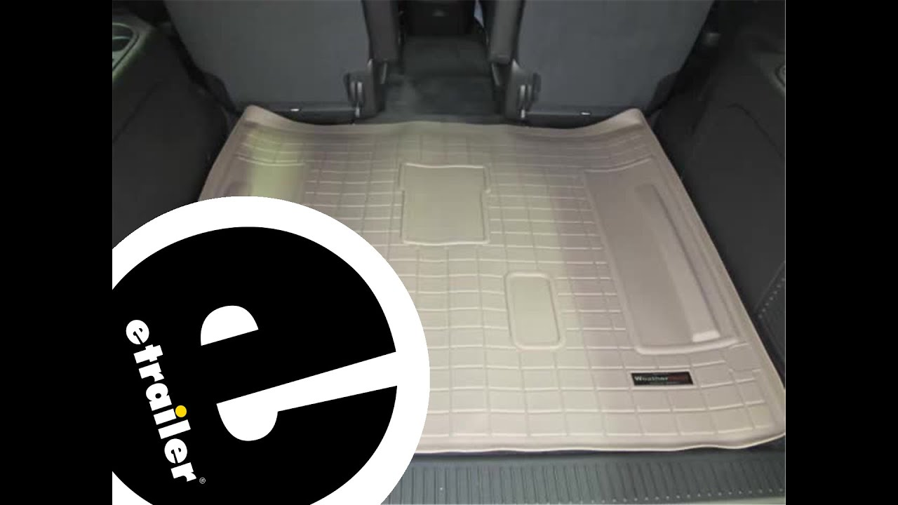 Youtube weathertech mats - Review Of The Weathertech Cargo Floor Liner On A 2013 Chevrolet Tahoe Etrailer Com Youtube