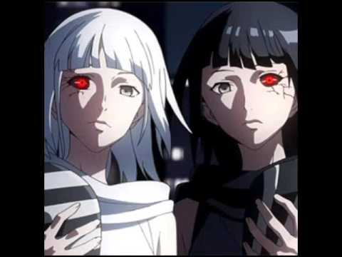 Creepy anime twins
