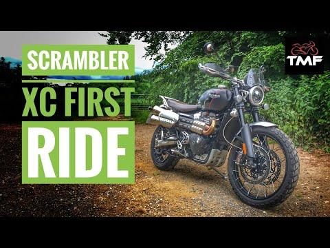 2019 Triumph Scrambler 1200 XC - First Ride Review