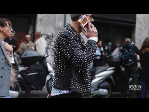Milan Fashion Week Fall/Winter 2017 Street Style Day 5