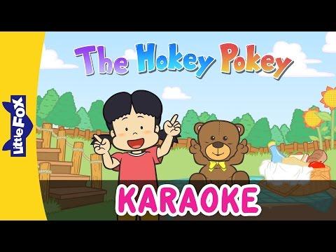 The Hokey Pokey | Sing-Alongs | Karaoke Version | Full HD | By Little Fox