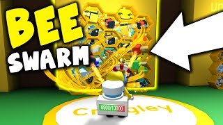 FIRST TIME PLAYING ROBLOX BEE SWARM SIMULATOR