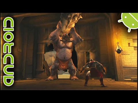 God of War: Chains of Olympus | NVIDIA SHIELD Android TV (2015) | PPSSPP Emulator [720p] | Sony PSP