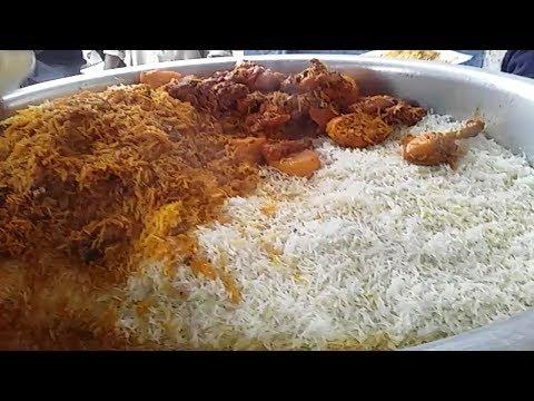 Famous Mamo Biryani Full Spicy Chicken Biryani Karachi Foods