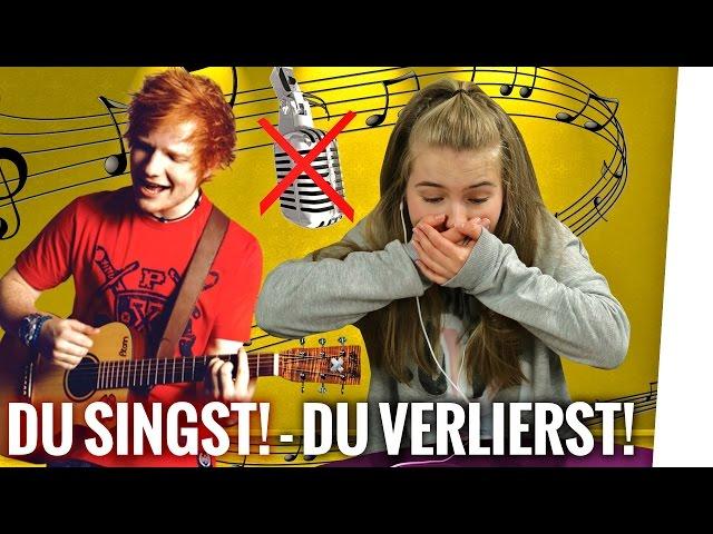 Wer bei diesem Video SINGT hat VERLOREN