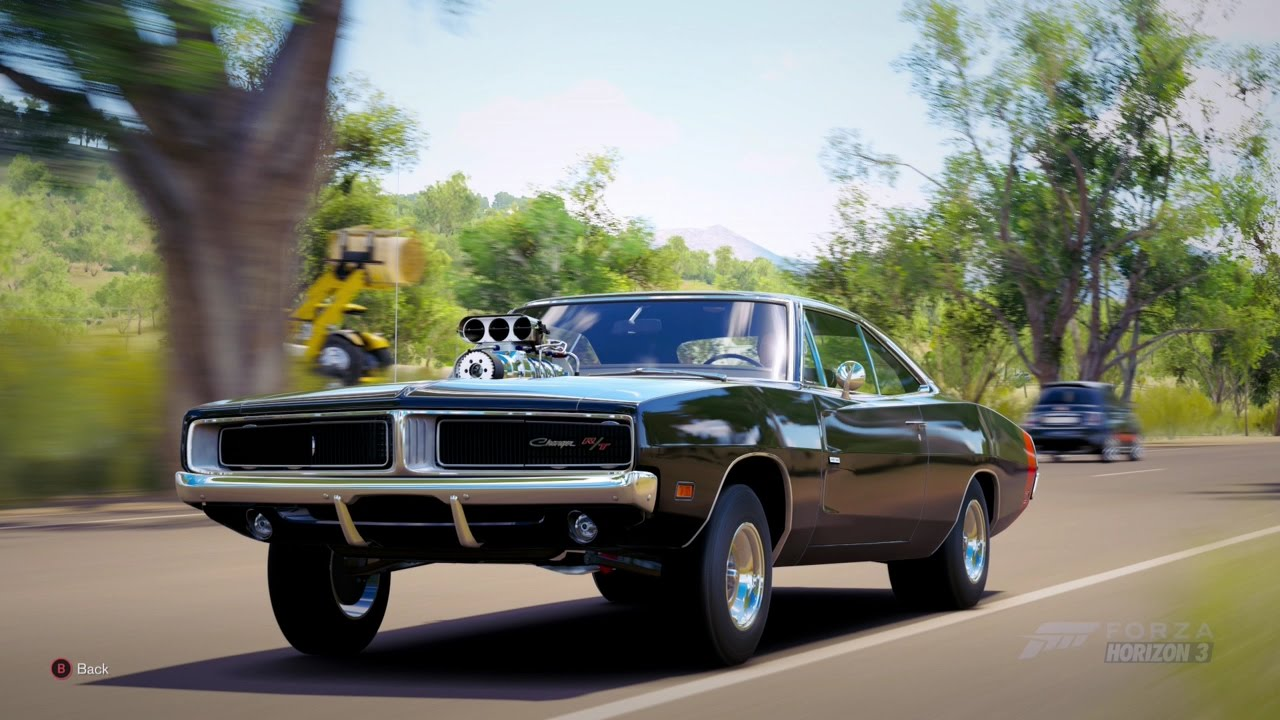 Forza Horizon 3 1969 Dodge Charger R T Youtube