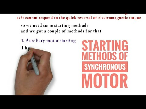 starting of synchronous motor