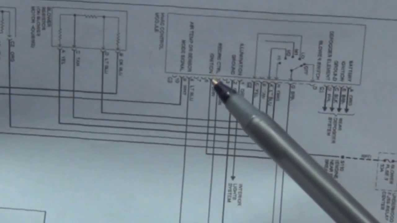 How To Read Wiring Diagrams Schematics Automotive Youtube Basic Electrical Legend