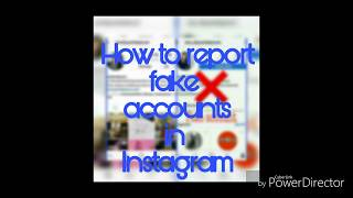 How to report fake accounts in Instagram