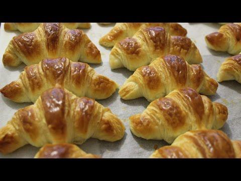 Kako napraviti kroasane - recept za kroasane