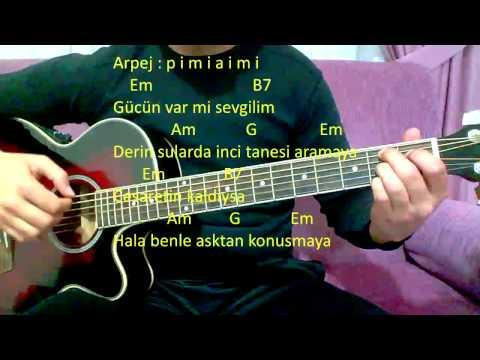 Gitar Dersi - Sil Baştan (Şebnem Ferah)