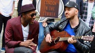 Aloe Blacc Sings 'London In The Summer'
