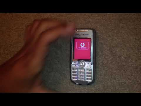 Sony Ericsson K700i Insert SIM, Insert correct SIM card and Startup
