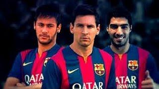 MSN ● Messi ● Suarez ● Neymar Jr - 2015