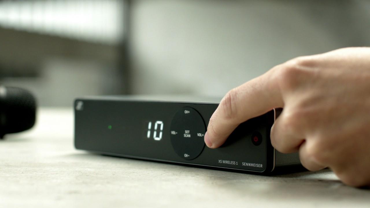 XS Wireless 1 microphone system I Sennheiser