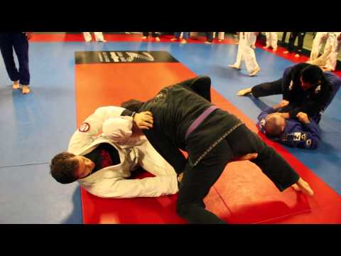 Alan Belcher MMA Club BJJ Class Punk'd By Alex Vamos