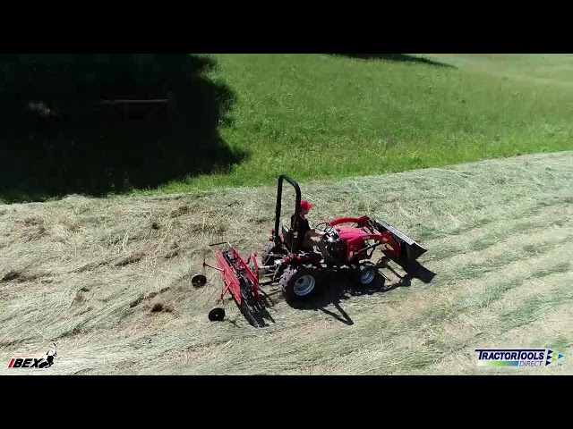 Ibex Hay Equipment For Small Farms - Complete Haymaking Package