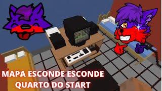 Minecraft - Mapa de Esconde-Esconde(Quarto do Start)